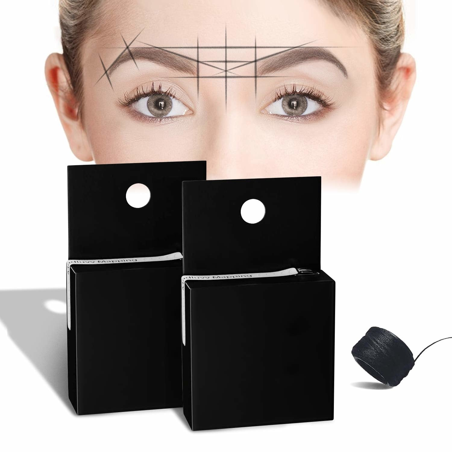 Eyebrow Mapping string - Black