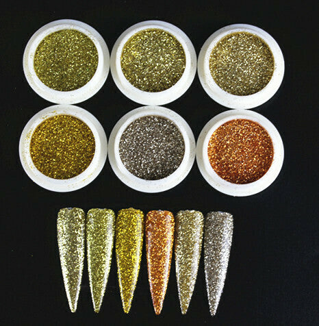 Glitter set 6pc | Goldmember