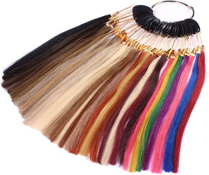 Hair Extension Color Wheel