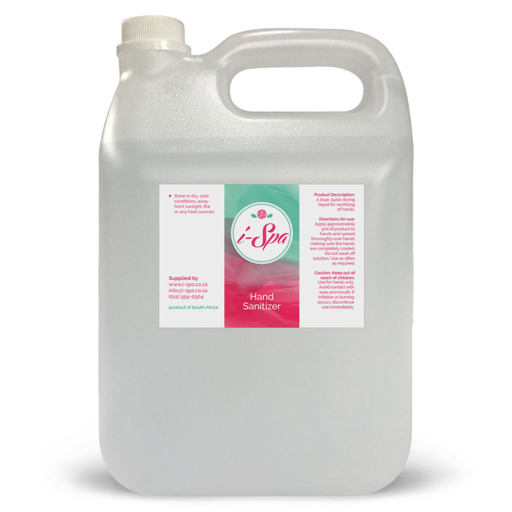 5 Liter Hand Sanitizer liquid - 70% Alcohol
