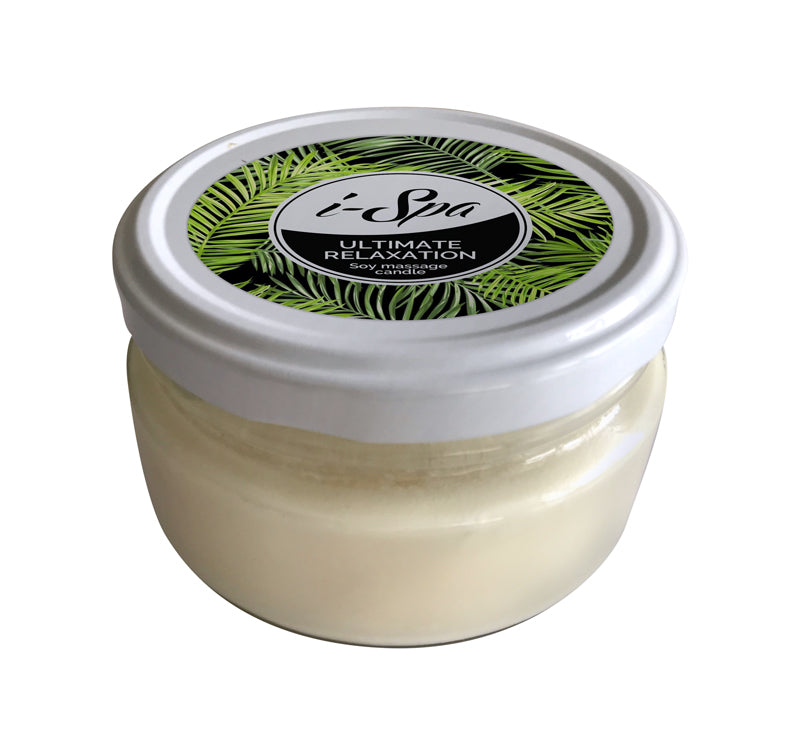 Ultimate Relaxation Soy Massage candle - 200g