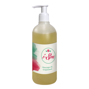 Grapeseed massage oil 500ml