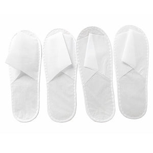 Non-woven Disposable slippers BOX of 100 pairs (OPEN TOE)