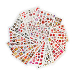 Popsicle Love Nail Art Sticker set | 12Pc
