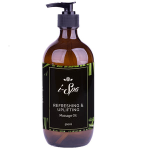 Refreshing & Uplifting massage oil 500ml
