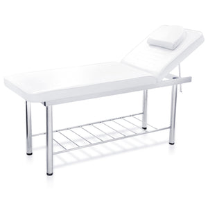 Salon bed - Stainless steel (White)