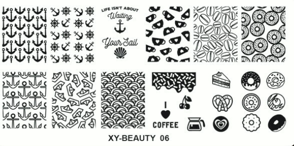 Stamping plates (XY-BEAUTY)