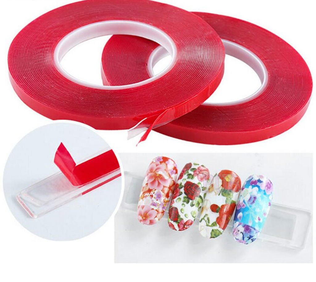 Nail display clear double sided tape | 10m