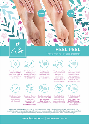 Heel peel step 1 - PEEL 500ml