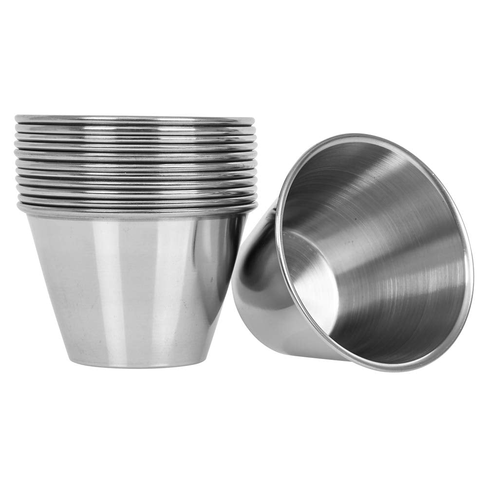 Stainless steel small cup (For masks/scrub/oils etc)