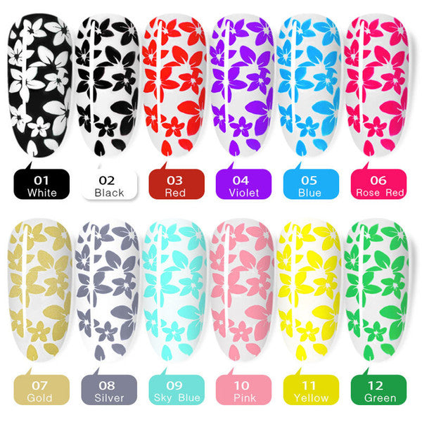 Stamping Gel (Various colors)