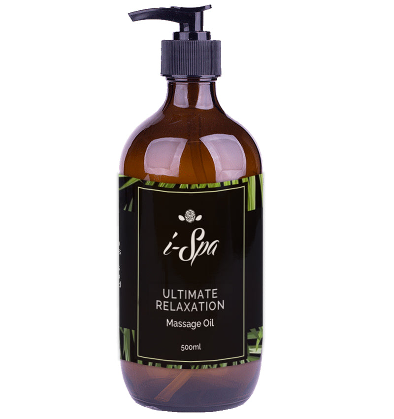 Ultimate relaxation massage oil 500ml