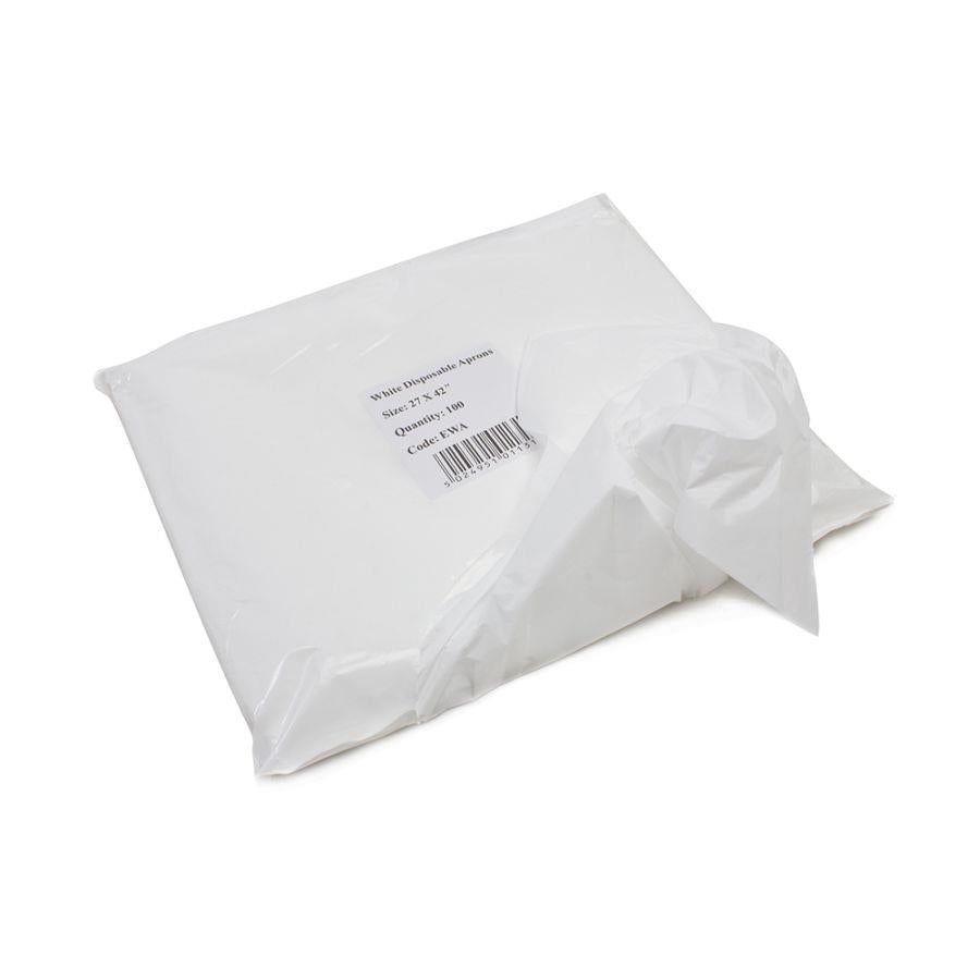Disposable Aprons - 100/pack (White)