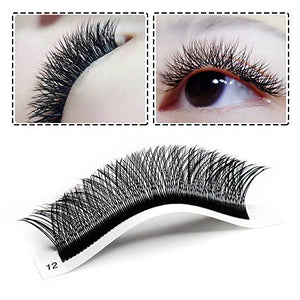 Y-lashes eyelash extensions trays (9mm-13mm)