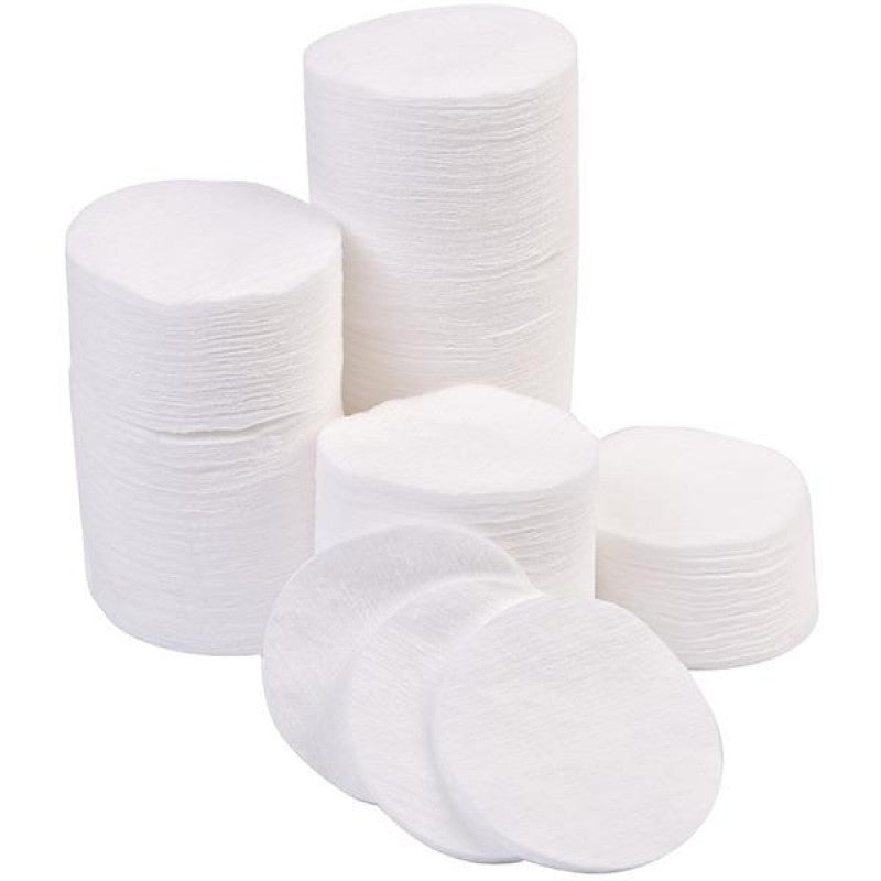 Cotton round pads 80's - i-Spa