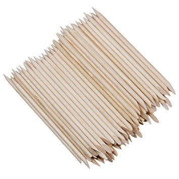 Orange sticks (wooden sticks) 100x - i-Spa