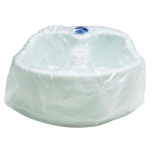 Disposable pedicure foot spa / bowl liners - 70x Liners