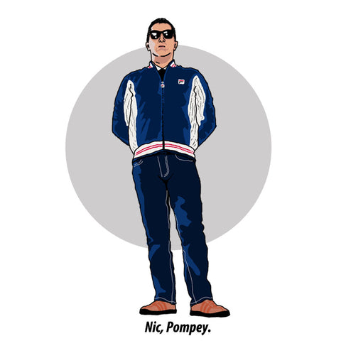 Thugs and Dressers Pompey Fila casual