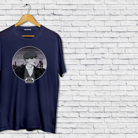 Peaky Blinders working man t-shirt navy