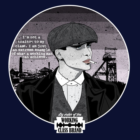 Peaky Blinders working man t-shirt