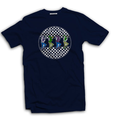 2 Tone ska casuals Men's t-shirt