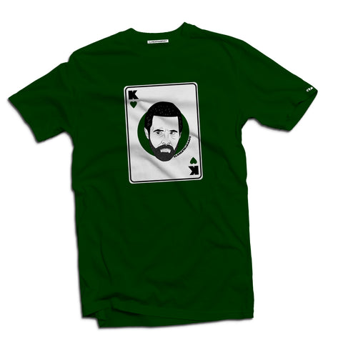 Anti-heroes playing cards t-shirts Richard - The Working-class Brand - Closer Than Most