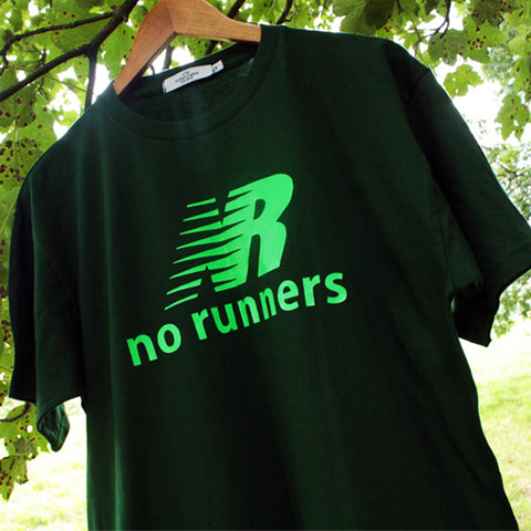 No Runners t-shirt - A New Balance parody.