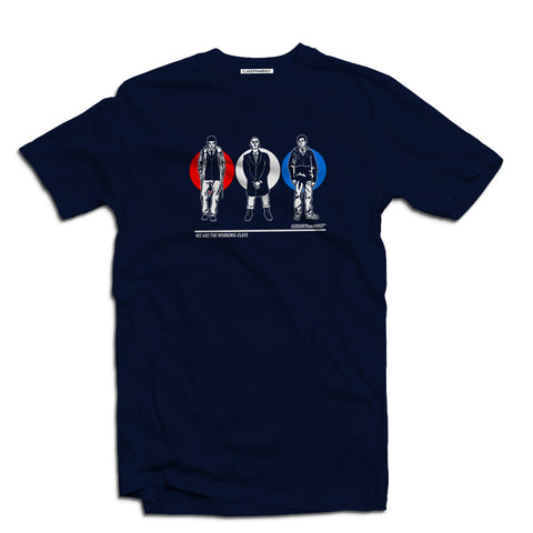 Red white and blue Men's British subculture Men's t-shirt - The Working-class Brand - Closer Than Most