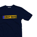 Terrace awayday reg plate Men's t-shirt - The Working-class Brand - Closer Than Most