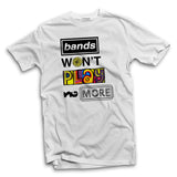 Bands won't play no more Men's Ska T-shirt - The Working-class Brand - Closer Than Most