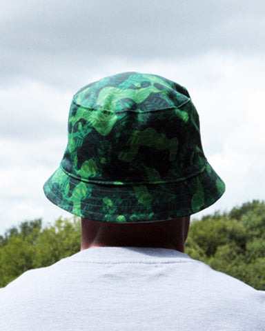TRAINER HEAD CAMO Bucket Hat