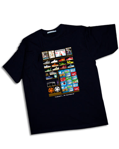 COLLECTOR classic trainers terrace casuals Mens t-shirt - The Working-class Brand - Closer Than Most