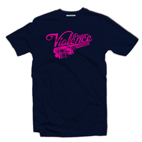 Designer Violence Men's terrace casual t-shirt - The Working-class Brand - Closer Than Most