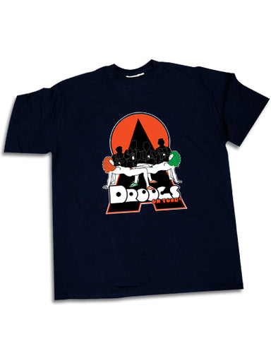 Droogs t-shirt - Stanley Kubrick's A Clockwork Orange inspired artwork.