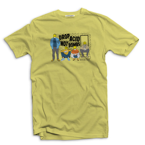 Drop Acid Not Bombs acid house Men's t-shirt - The Working-class Brand - Closer Than Most