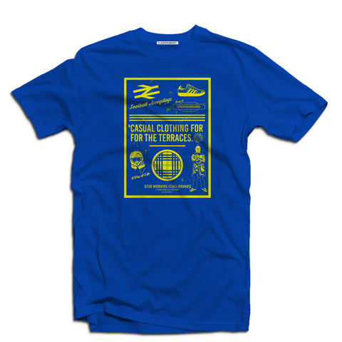 Football Awaydays Men's terrace t-shirt - The Working-class Brand - Closer Than Most