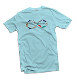 Halcyon Men's sky blue t-shirt - The Working-class Brand - Closer Than Most