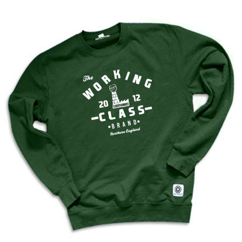 Industrial Workers Men's Sweatshirt - The Working-class Brand - Closer Than Most