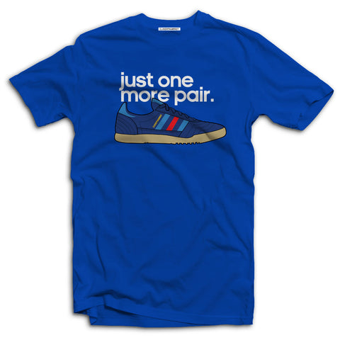 Just One More Pair Special Edition t-shirts