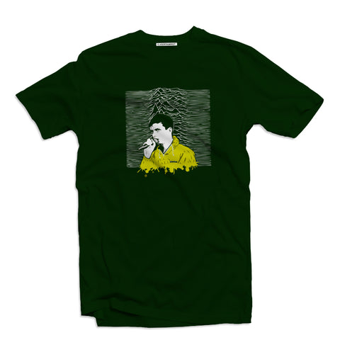 Northern Pleasures deep green Men's t-shirt - The Working-class Brand - Closer Than Most
