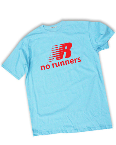No Runners Men's casual t-shirt - The Working-class Brand - Closer Than Most