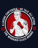 NO TALK boxing Mens t-shirt - The Working-class Brand - Closer Than Most