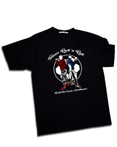 TERRACE ROCK'N ROLL the old firm casuals Mens t-shirt - The Working-class Brand - Closer Than Most