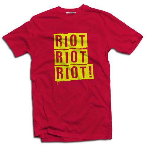 Riot Men's subculture t-shirt - The Working-class Brand