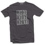 Riot Men's subculture t-shirt - The Working-class Brand - Closer Than Most