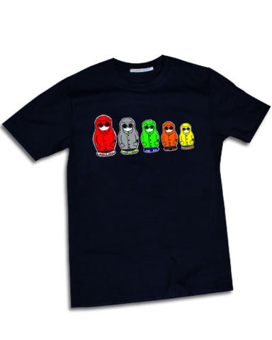 MATYOSHKA MILLE russian doll casuals Mens t-shirt - The Working-class Brand - Closer Than Most
