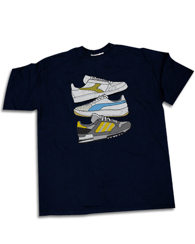 CLASSIC TRABS trainers Mens t-shirt - The Working-class Brand - Closer Than Most