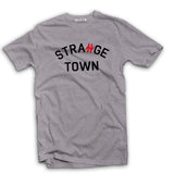Strange Town awaydays football casual t-shirt