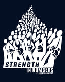 STRENGTH IN NUMBERS working-class Mens t-shirt