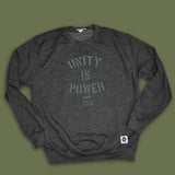 Unity is Power Men's working-class sweatshirt - The Working-class Brand - Closer Than Most